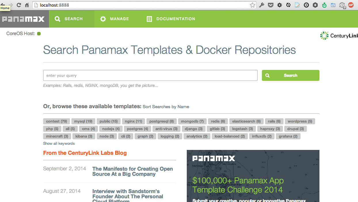 Panamax — Or how I got my mom running her ruby cms … on a cluster!
