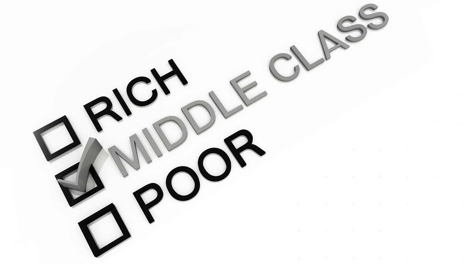 the middle class report climb out or you ll fall out