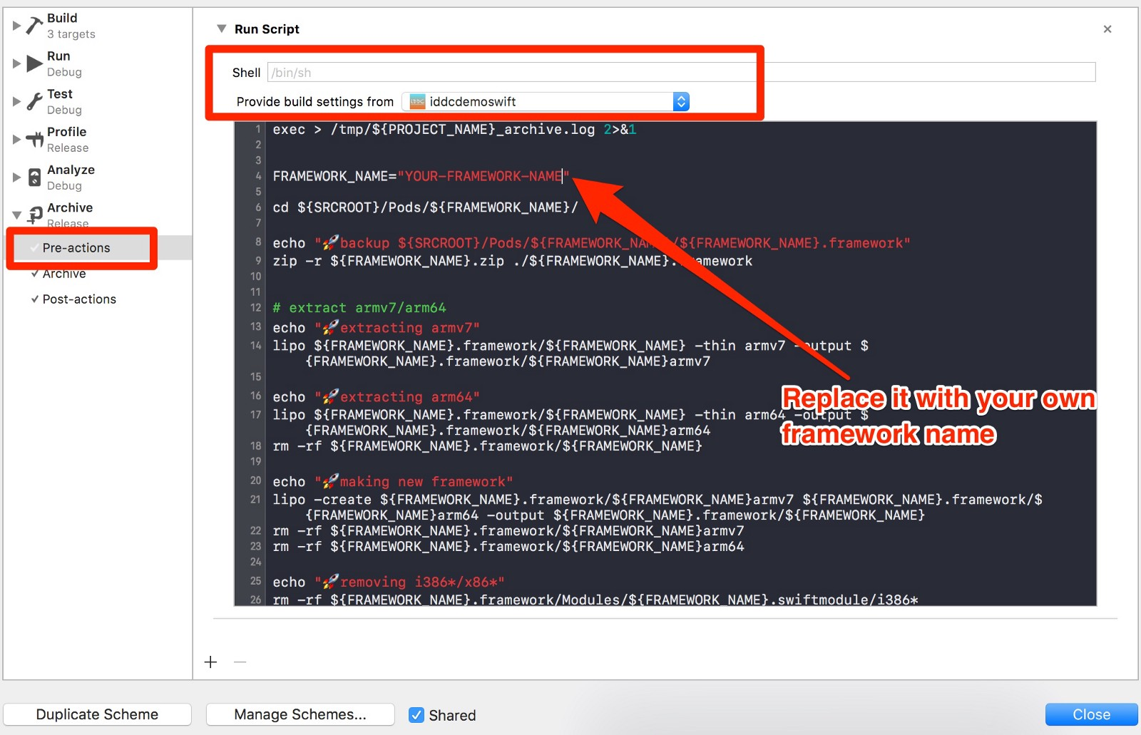 how to upload an app with universal framework to appstore