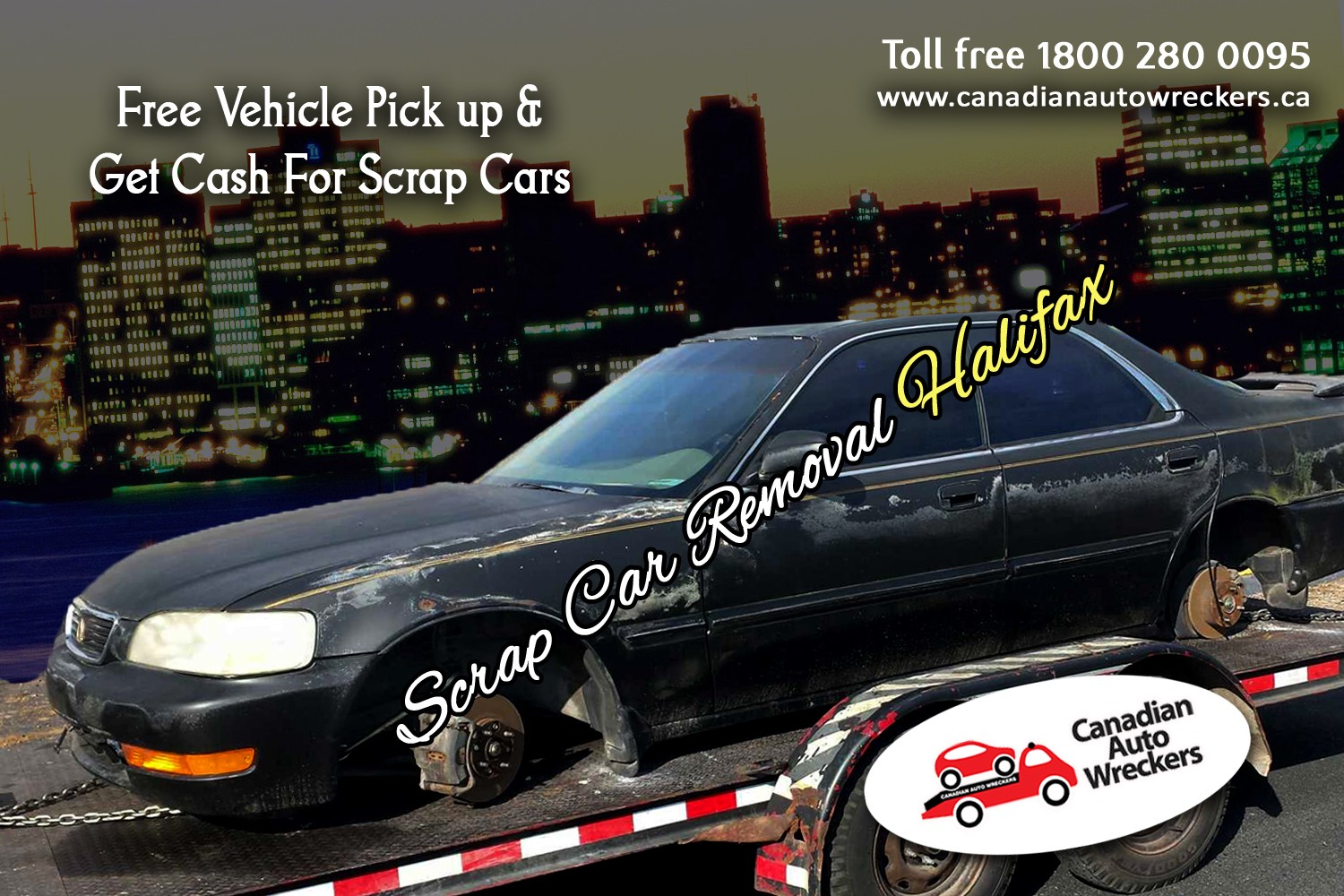 Scrap Car Removal Halifax Canadian Auto Wreckers Pick Up All