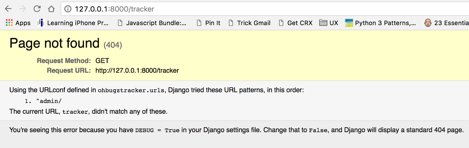 Develop your first web application in Django 1.10 — Part 1