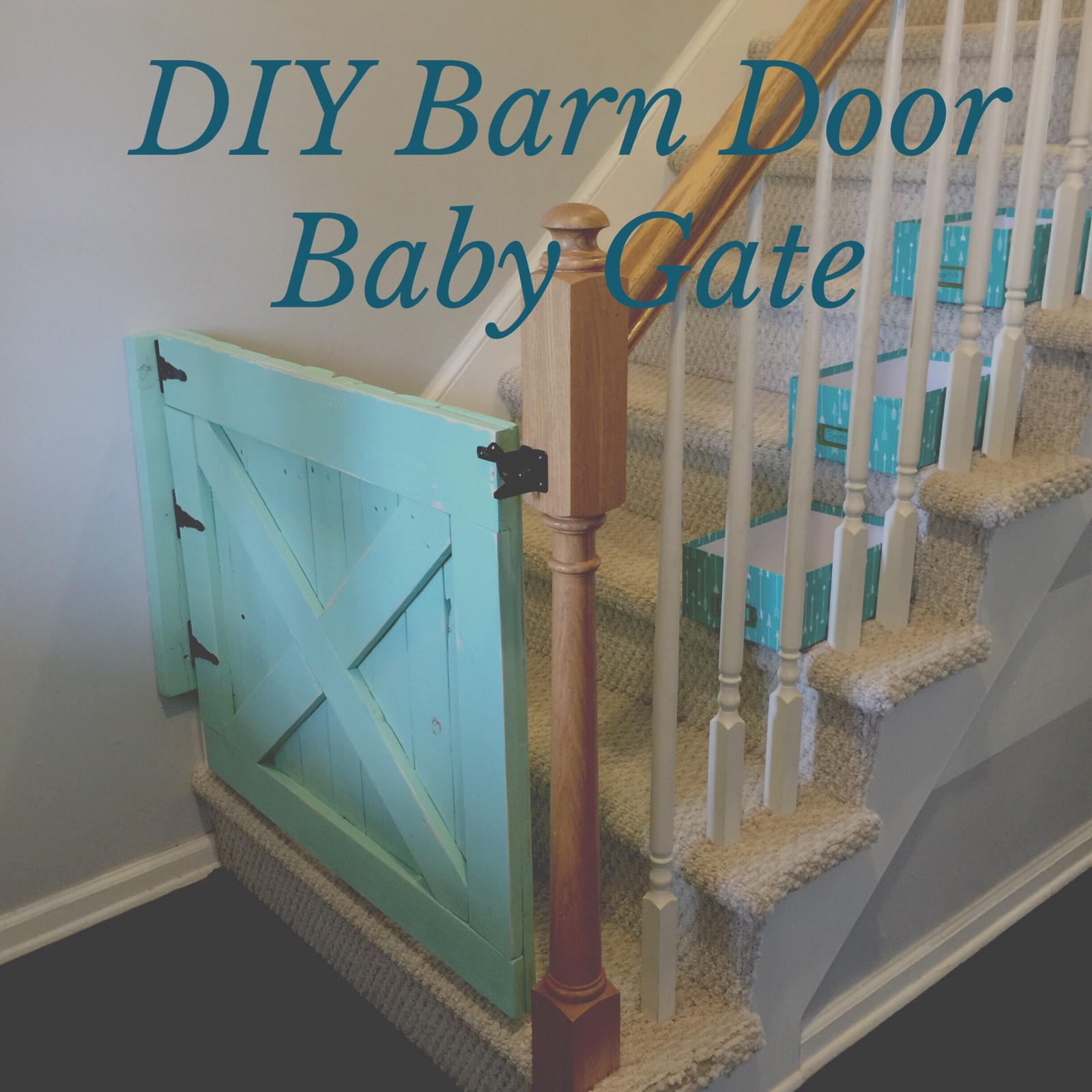 Diy Barn Door Baby Gate Out Of Pallets Shabby Aina Chic Boutique