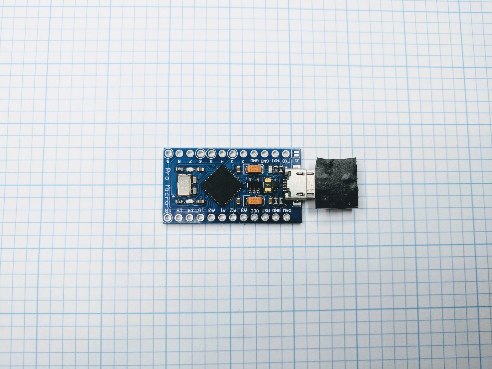 Building A Usb Rubber Ducky For 7 Adam Eaton Medium Build Your Own Arduino Amp Bootload An Atmega Microcontroller 8211 Part 1 I Didnt Have Drive Large Enough To Fit It So Outfitted With Otg Adapter And Some Electrical Tape Called Day
