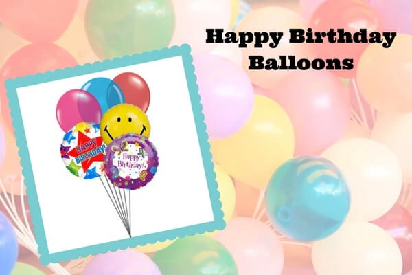 With Our Happy Birthday Flower Bouquets You Can Make Your Loved Ones Day Special And Cheerful Sending Them A Bouquet Of Balloons
