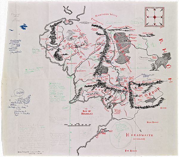 Tolkien S Maps Of Middle Earth Translated Into Interactive 3d Model