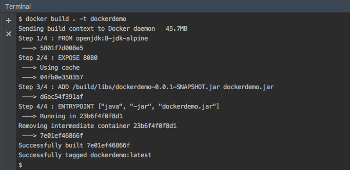 sending build context to docker daemon