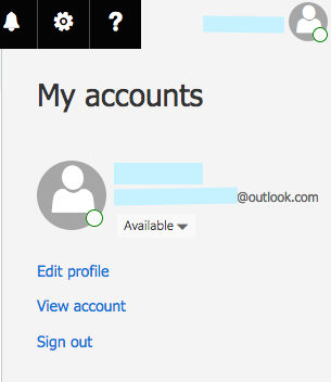 ms outlook password recovery authentication code
