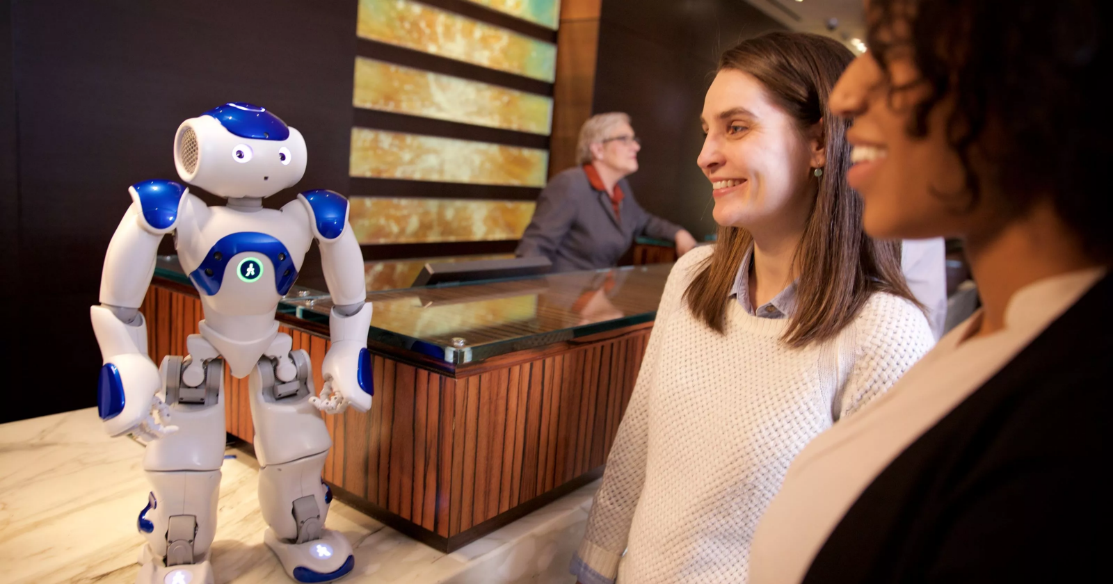 Should Your Customers Be Conned By A Human Or Ai Towards Data Science Inside The Lab Where They Build Robots That Are Smaller Than Pennies Connie Hiltons Robot Concierge