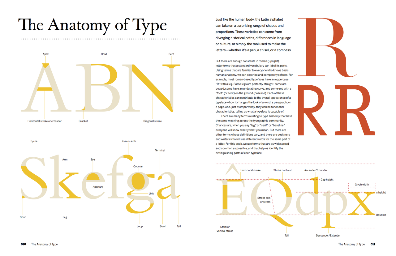 The Anatomy Of A Thousand Typefaces Florian Schulz Medium