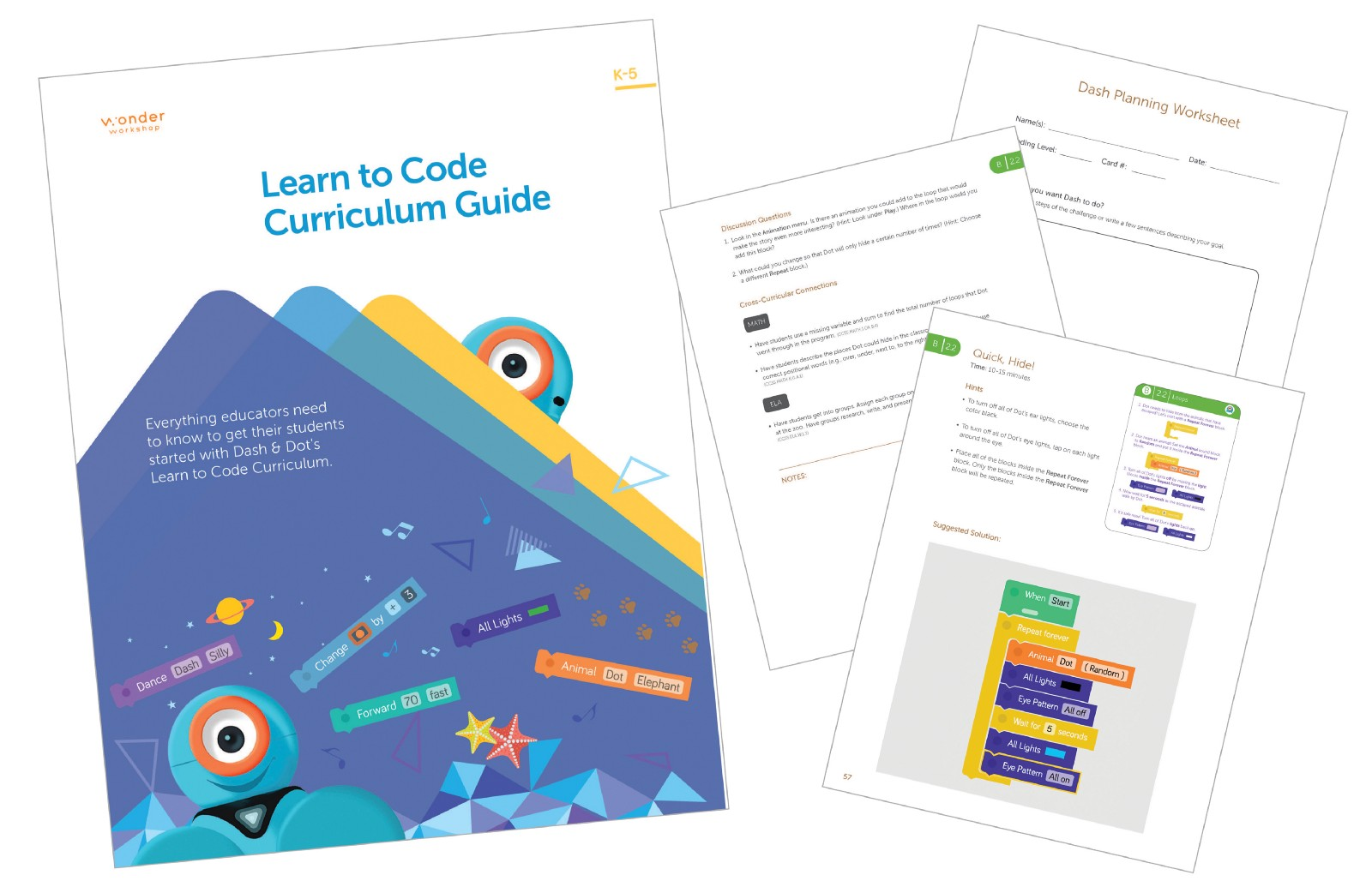 Overview Of Our New K 5 Learn To Code Curriculum Find Wonder Medium