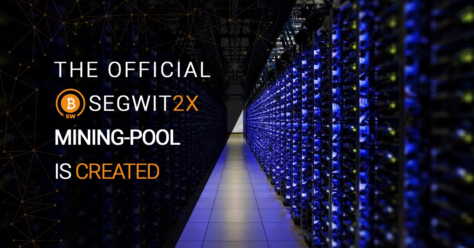 The official segwit2x mining pool created segwit2x medium since we cant guarantee the reliability of these pools we organized the official segwit2x mining pool ccuart Choice Image