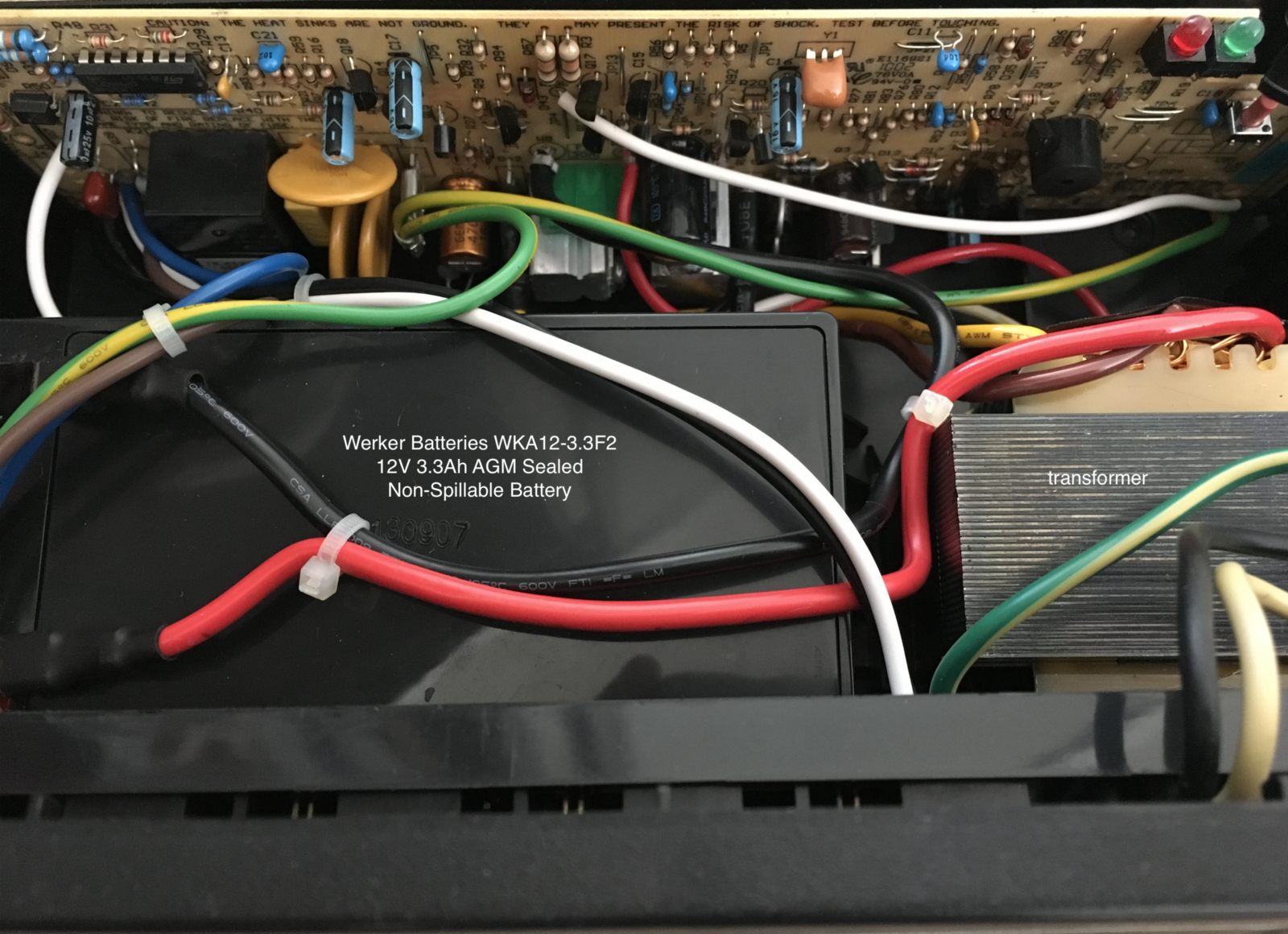 Building An H Bridge From A Salvaged Uninterruptible Power Supply Ups Panel Wiring Diagram Update More About This Transformer See Opening Winsson 621225