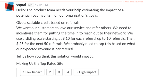 Applying The Scientific Method To Product Management. Screenshot From Early Build Of Our Slack Bot. Worksheet. Hypothesis Testing Worksheet With Solutions At Mspartners.co