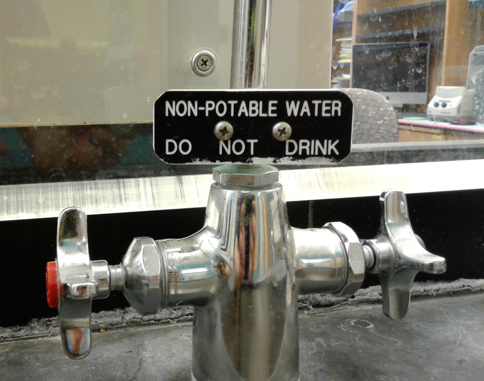 Water, water every where – Sciwalk Cafe