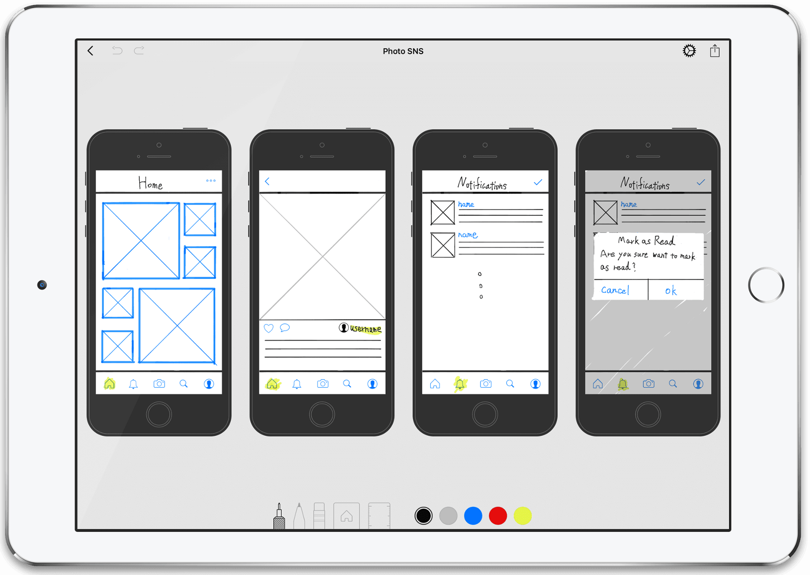 It will enable you to sketch user interface in anytime anywhere with your ipad pro this article explains why did we develop that app