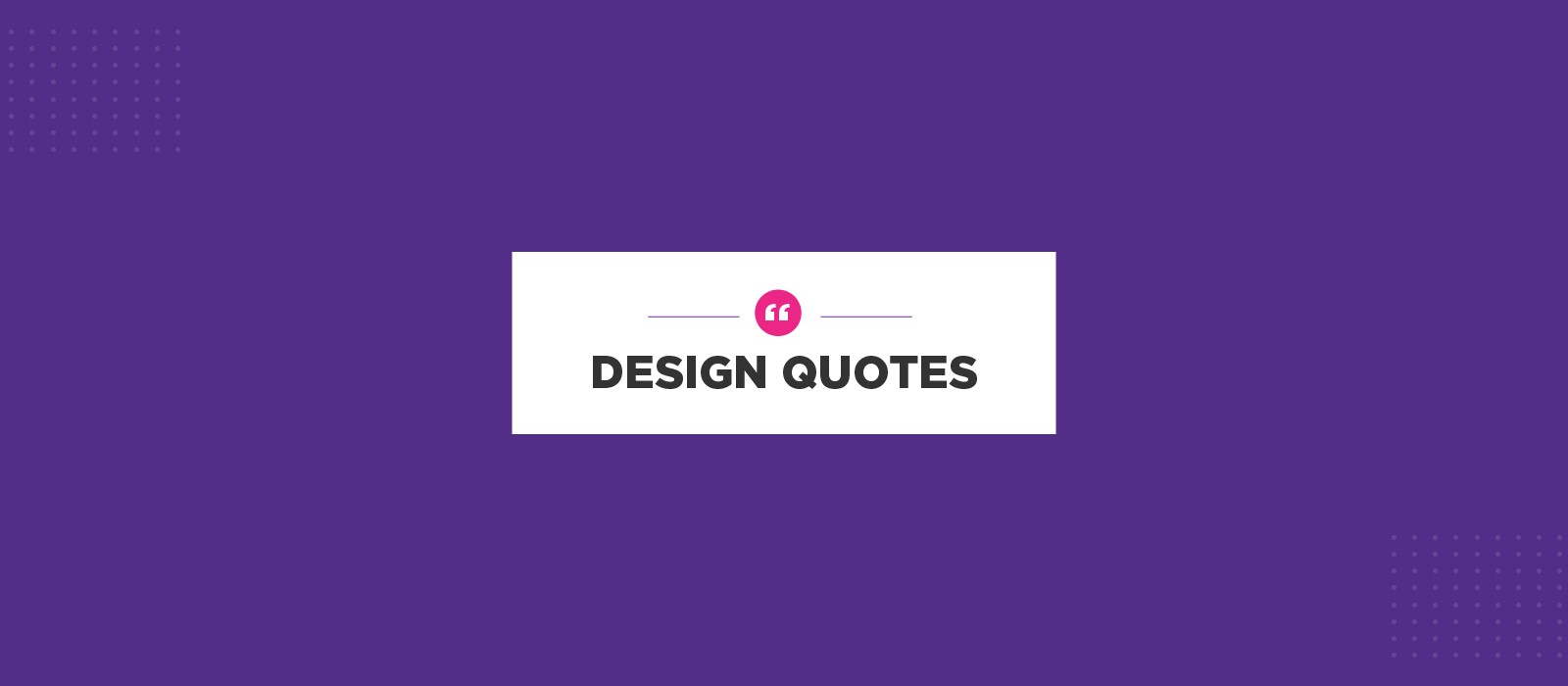 Quotes Design Custom Design Quotes  Muzli Design Inspiration