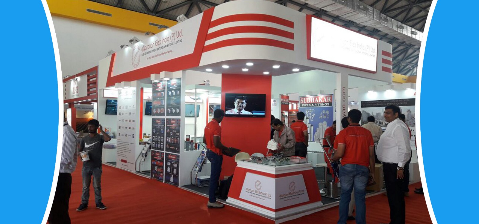 Exhibition Stall Designer Job : Best d exhibition stall booth design fabrication company