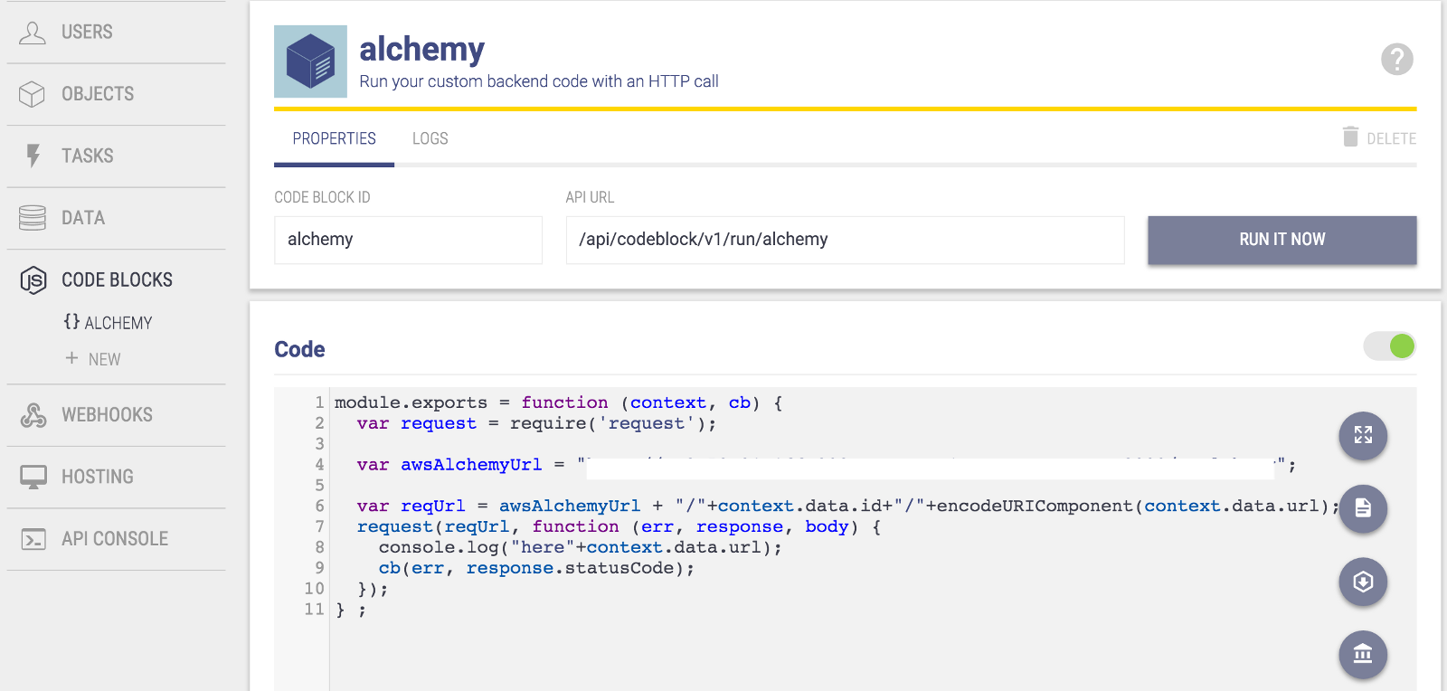 The Age Of Bots And Backend As A Service Factor Daily Medium Wiring Number Tags Hit Alchemy Api Above Once It Got Response Would Send Post Update To Database With Other Metadata