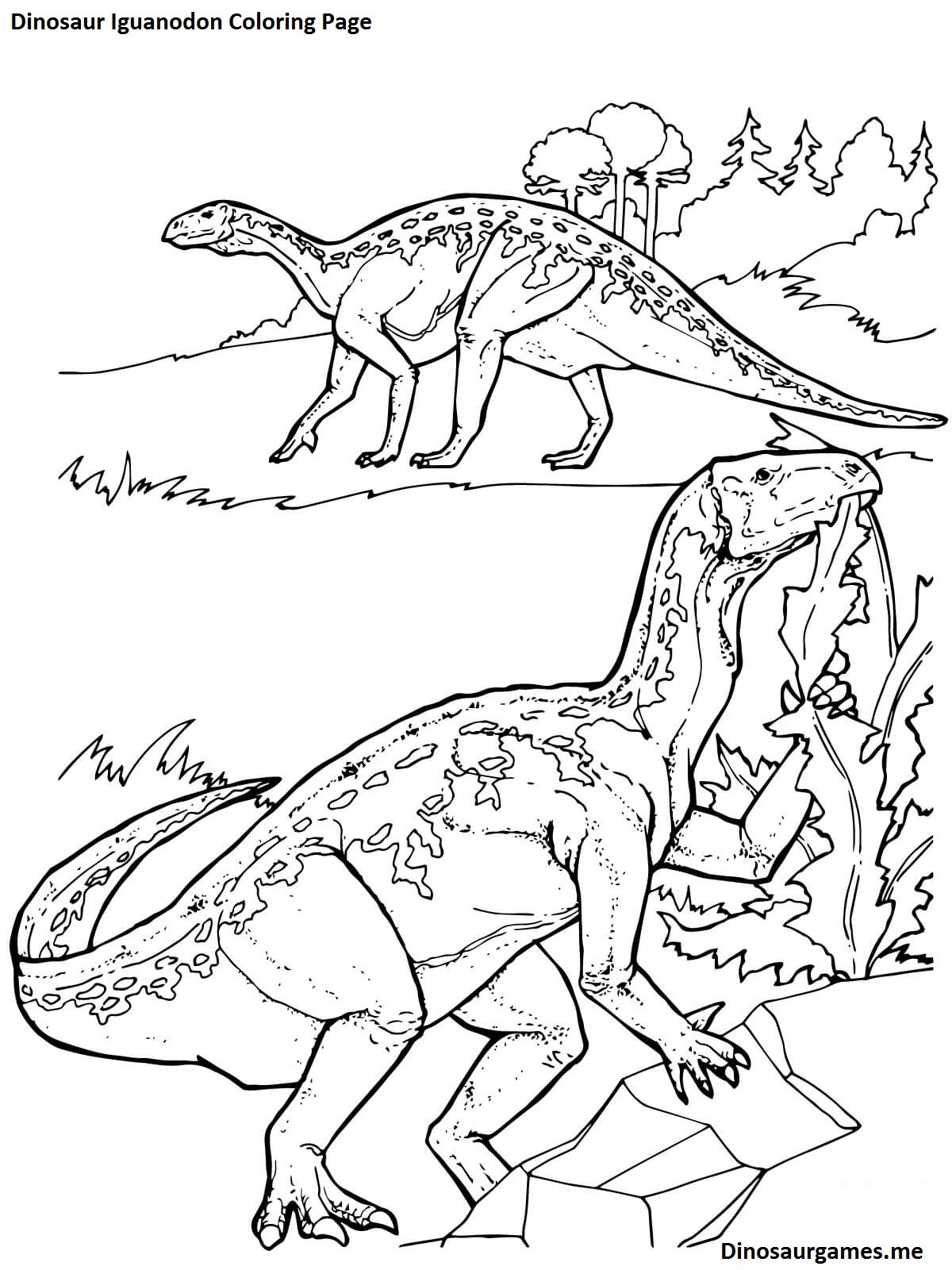 Discover All The Prehistoric Animals You Can Color On The Dinosaur ...