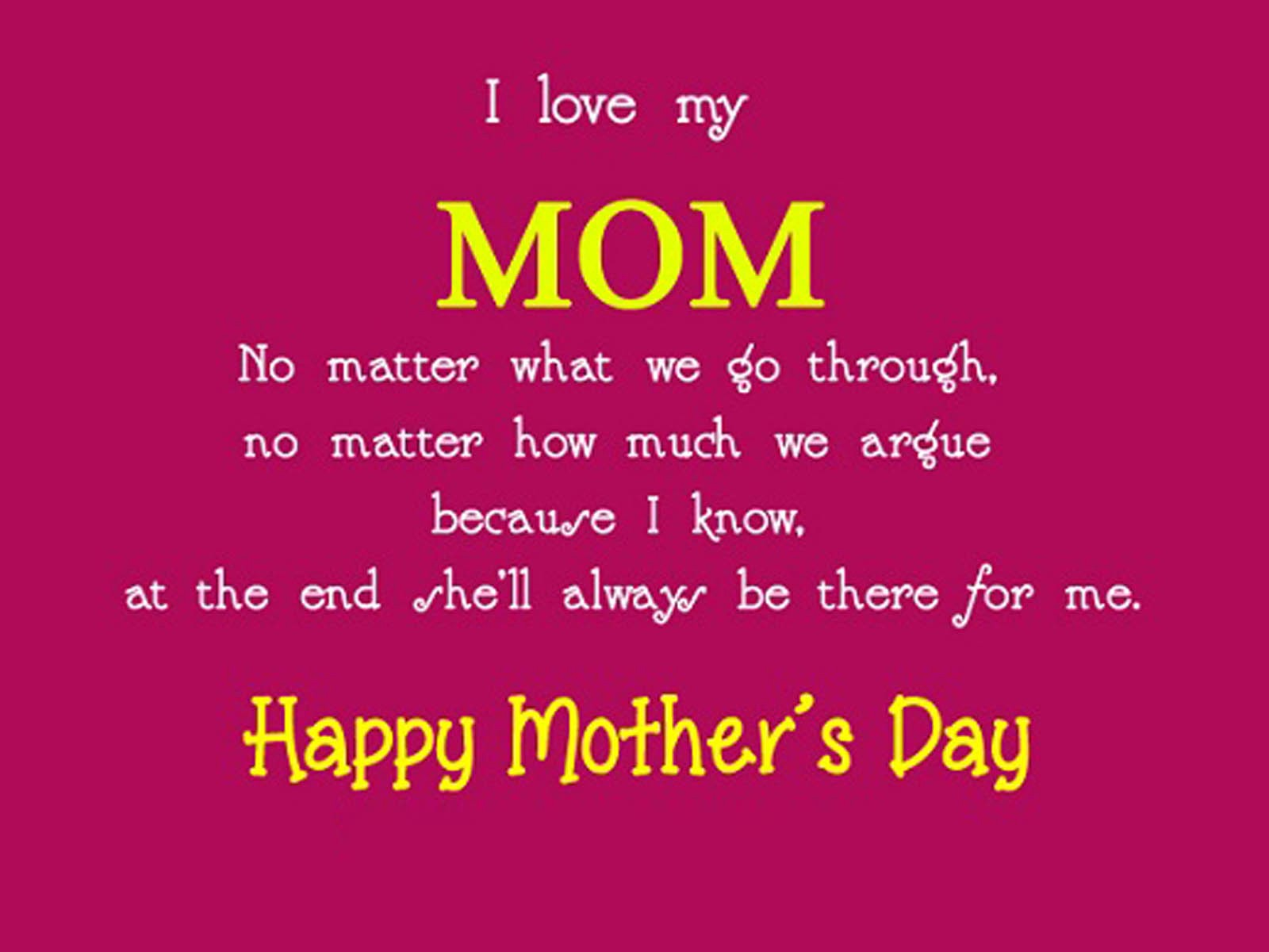 Cute Mothers Day Sms Small Quotes Heartfelt Wishes Messages