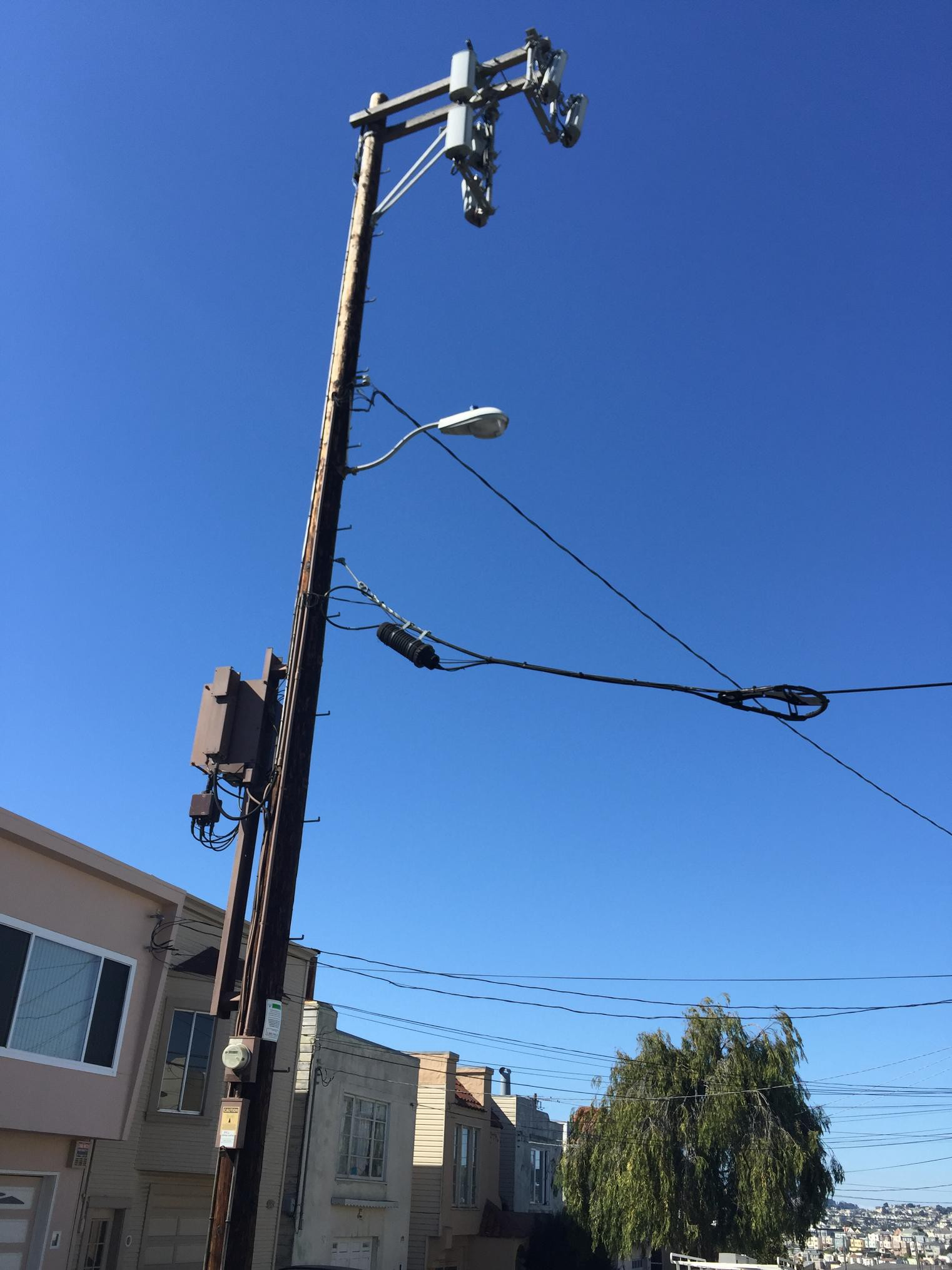Small Cement Pole : Part design tips for small cells based on pole or