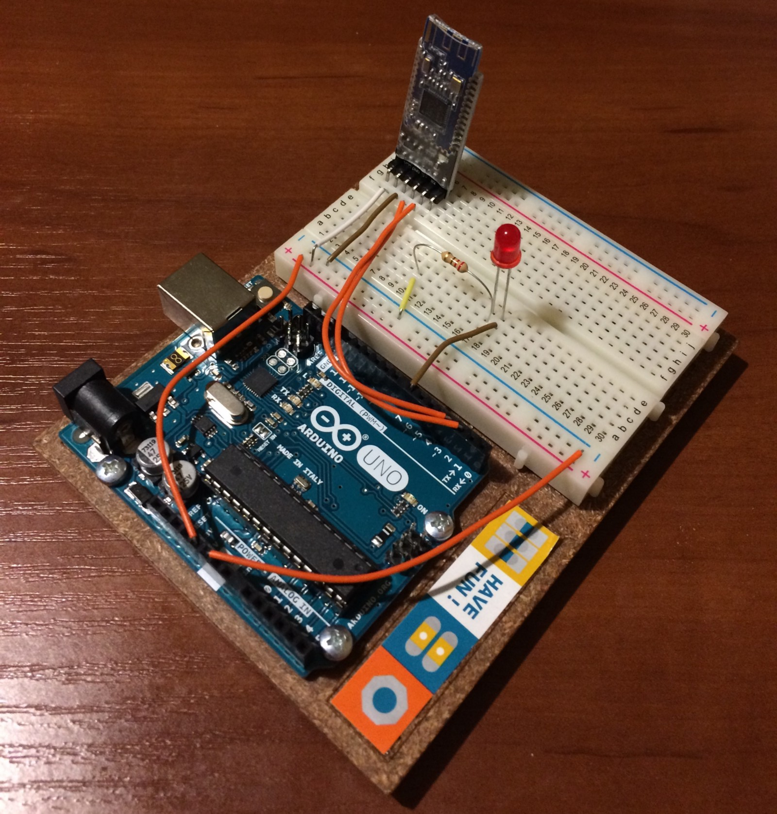 Make A Bluetooth Driven Electronic Device With Arduino At Its Heart The Circuit Connections Are Pretty Straightforward And Basic Ble Board Configuration