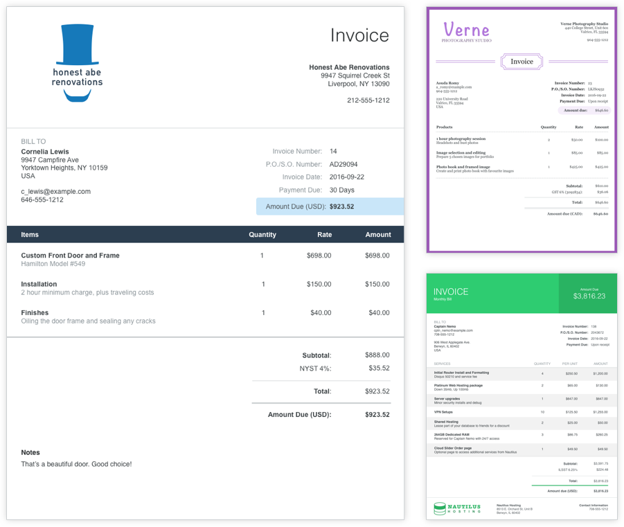 Reasons Why We Dumped Wave Accounting For Xero Lawrences Blog - Invoice making app