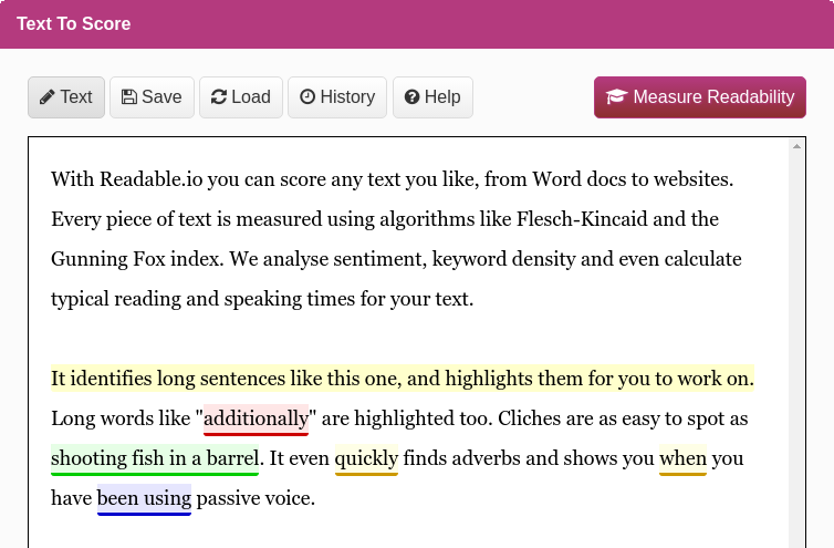 Tips and tools for improving your content readability score.