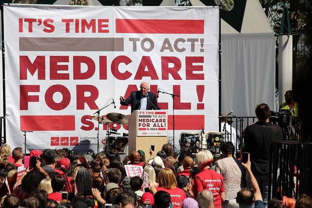 Thank you Sen. Sanders for leading the way on the people's movement for Medicare for all.