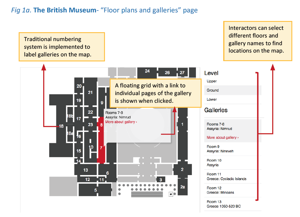 "Map British Museum The British Museum Website"" Design Critique – Tica Lin – Medium Map British Museum"