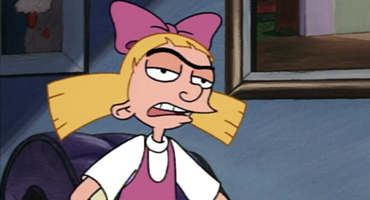 hey up Helga arnold all grown