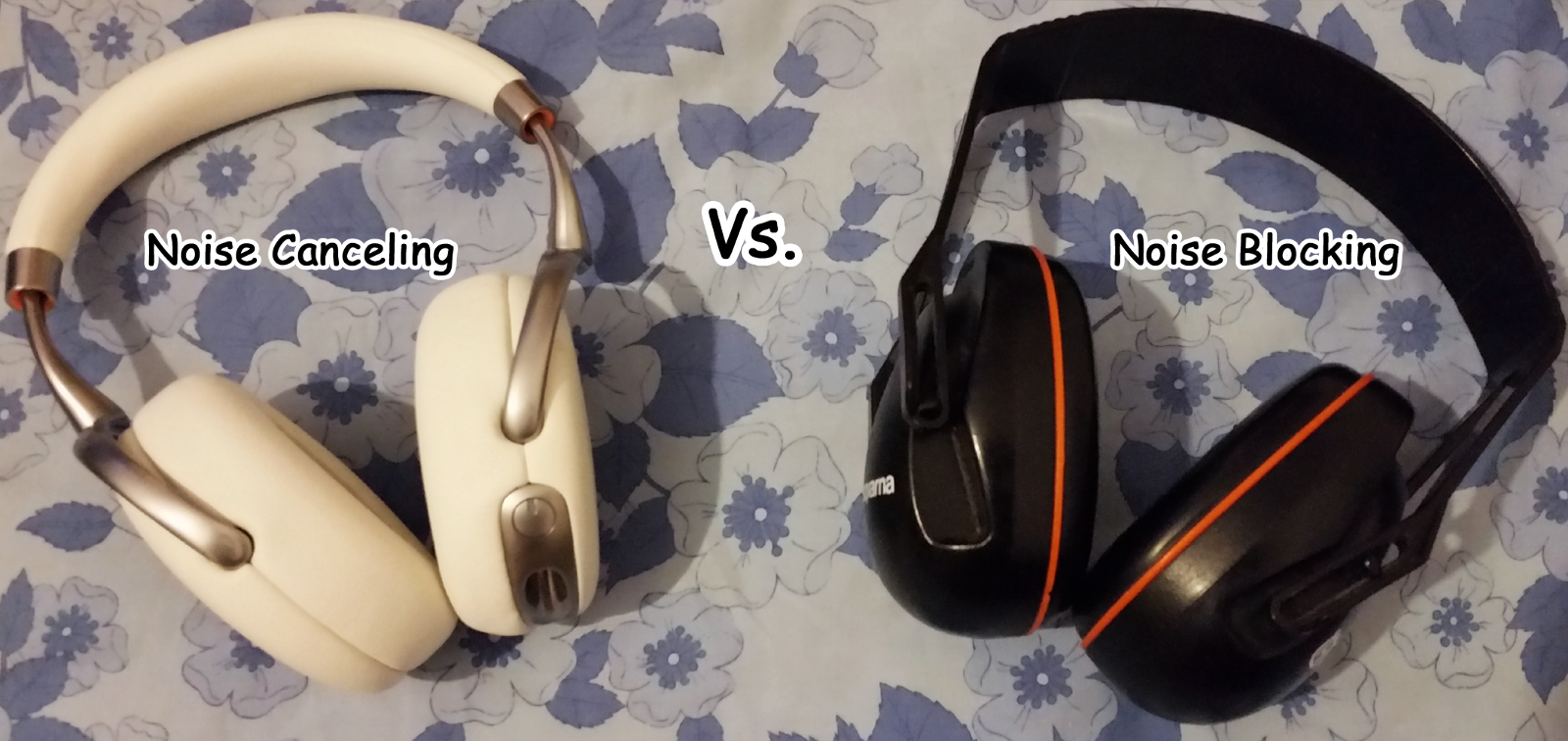 Noise Canceling Vs Blocking Headphones Disability Equipment Microphone Amplifier With Suppression