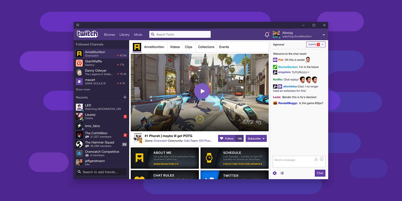 Twitch's Desktop App gets a full release today