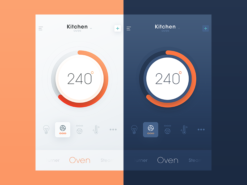 30 inspiring examples of smart home app muzli design inspiration - App Design Ideas