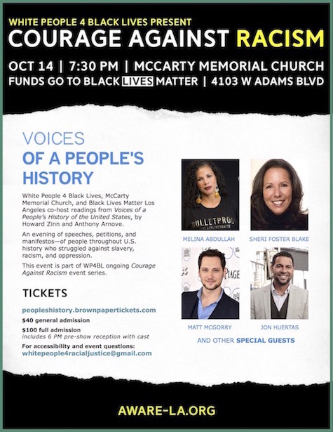 Los Angeles Get Ready For Voices Of A Peoples History