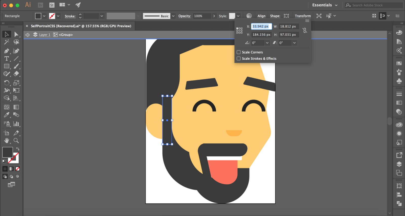 How To Draw Your Face In Css Prototypr