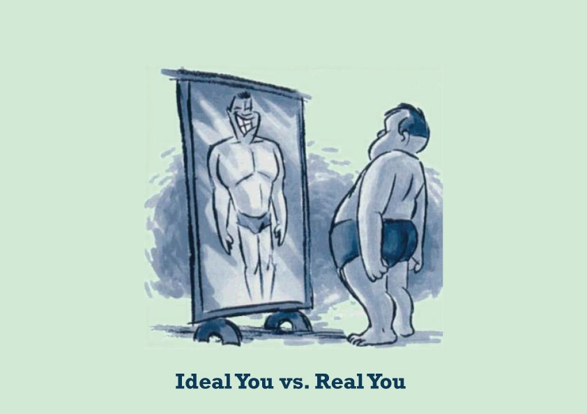 actual self vs ideal self Highlights self-resembling avatars can counteract the negative effect of discrepancy between actual and ideal self avatars reflecting ideal self make users.