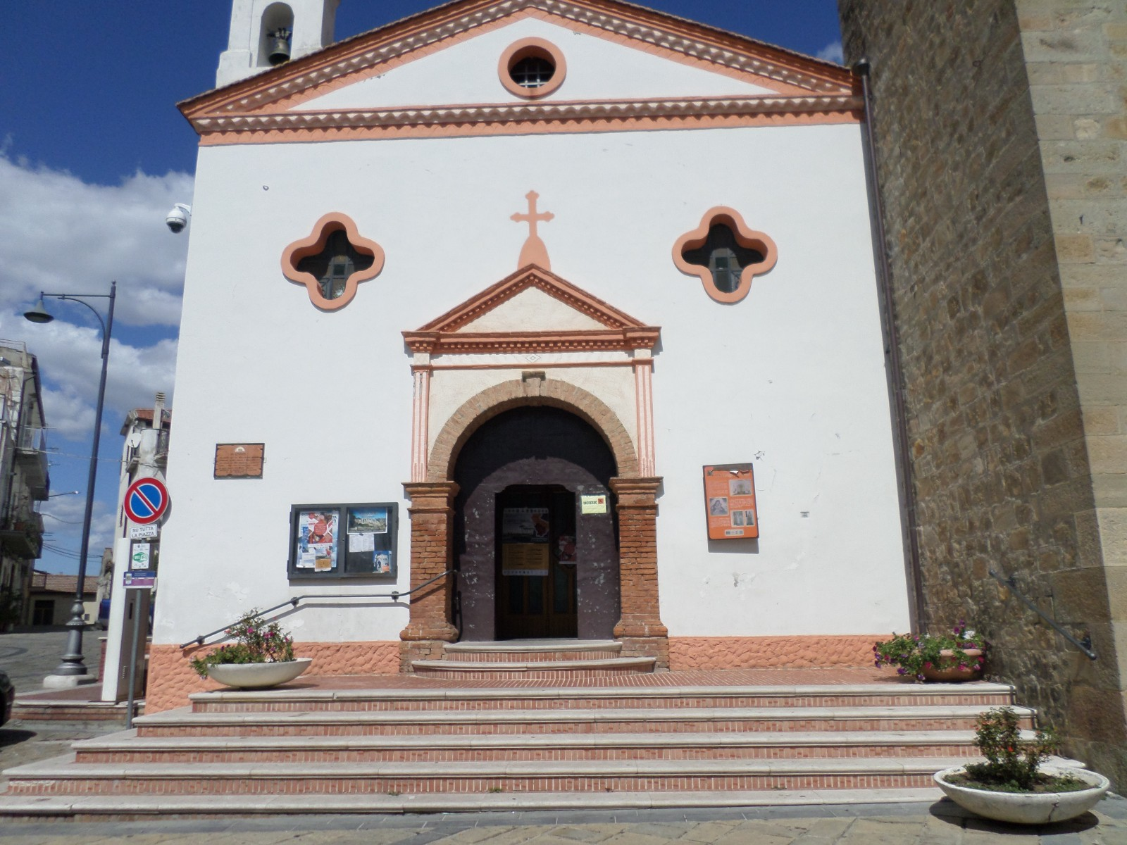 The church Aliano