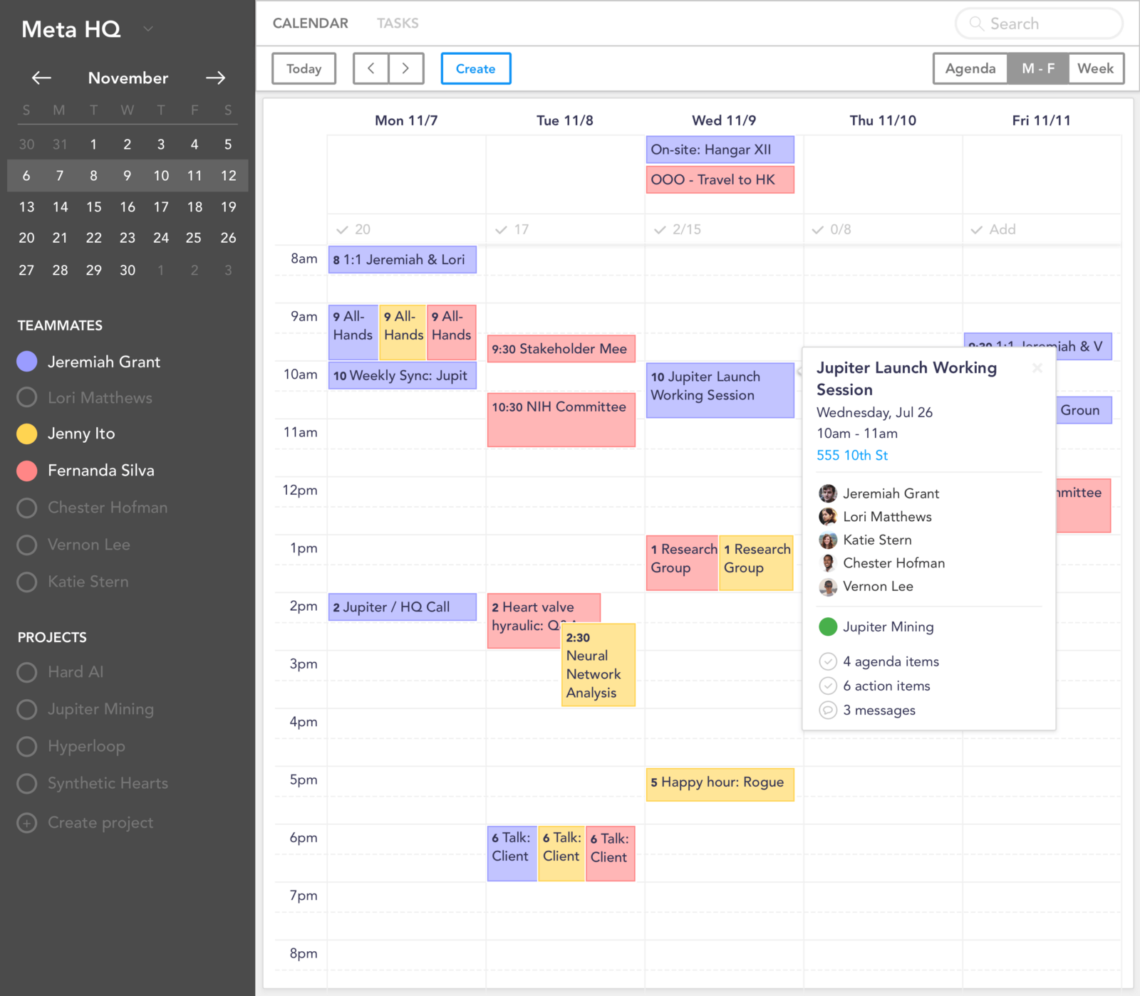 This Is A Smart Team Calendar Which Can Be Used For Meeting Preparation The Bot In Slack Sends Reminders Follow Ups Agendas And Does Other Things