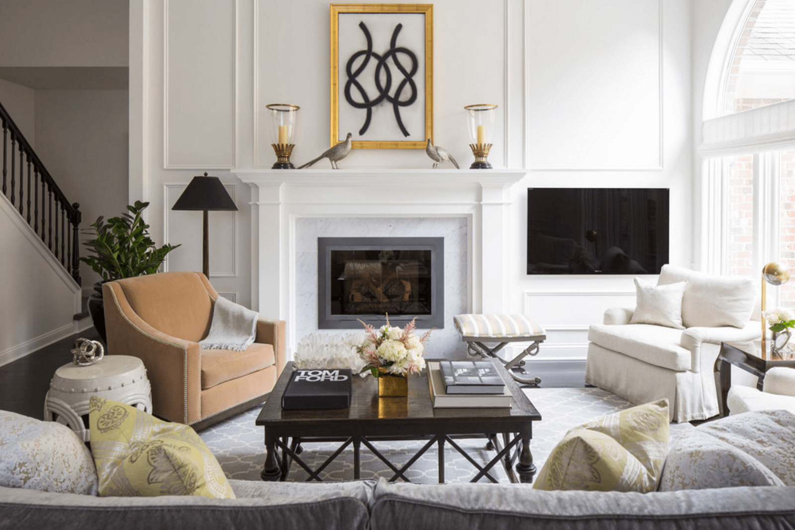 Symmetry in interior betty moore medium - Decor de cheminee ...