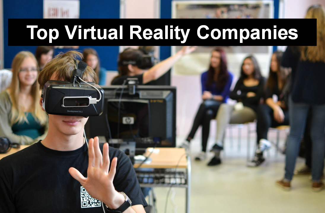 Top 10 virtual reality companies in 2018 hacker noon for Best product development companies