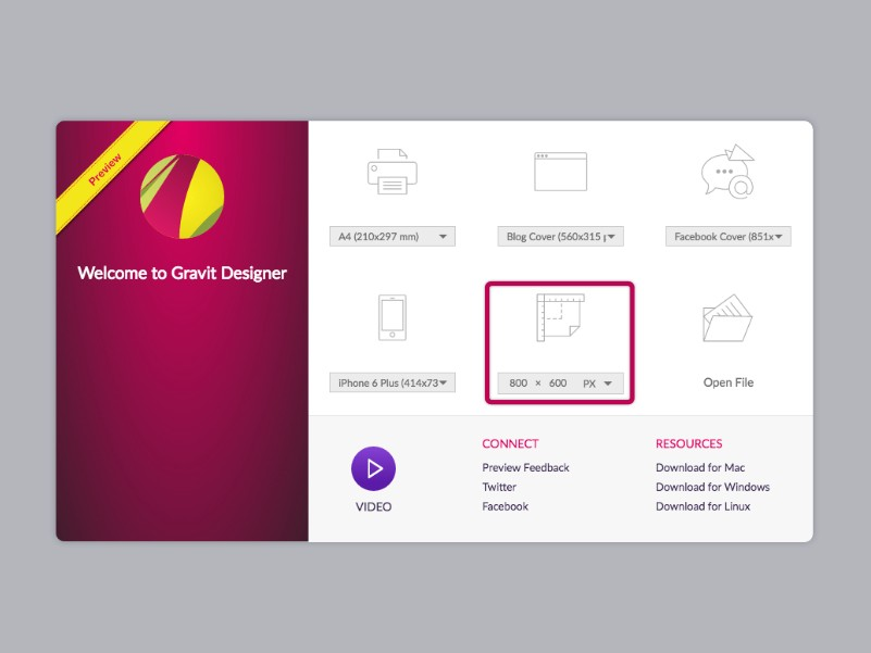 Design A Professional Logo Using Gravit Gravit Designer Medium - Creating a design document
