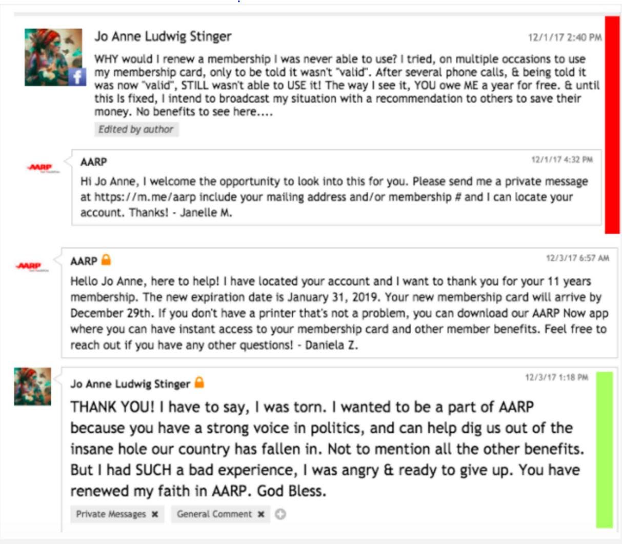 Why Aarp Has An Entire Team Dedicated To Answering Facebook Comments