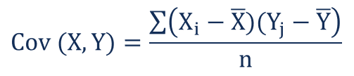 Linear Regression covariance