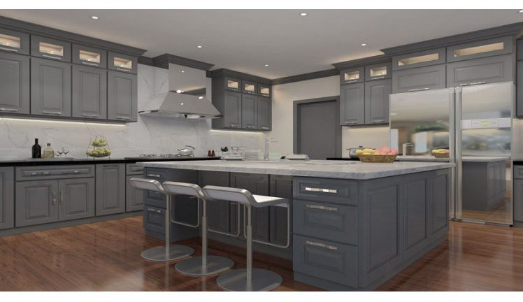 But When You Are Choosing Black Countertop Need To Be More Cautious About The Kitchen Lighting As Color Looks Darker In