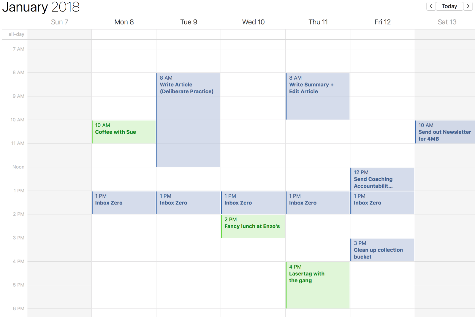 how to make a work schedule