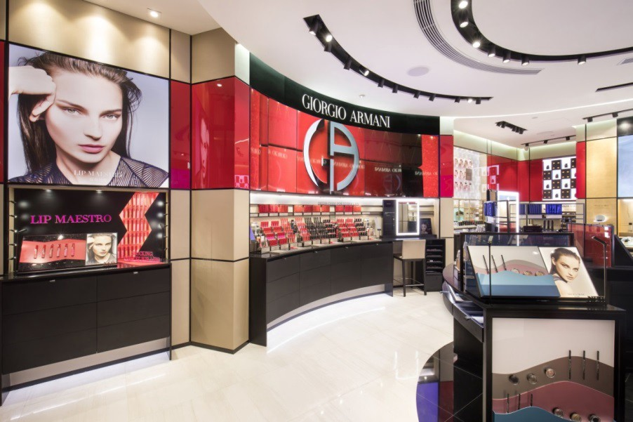 GIORGIO ARMANI FRAGRANCES & BEAUTY STORE OPENING IN NANJING - cover