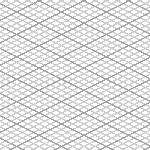 illustrator making an isometric grid with the grid tool