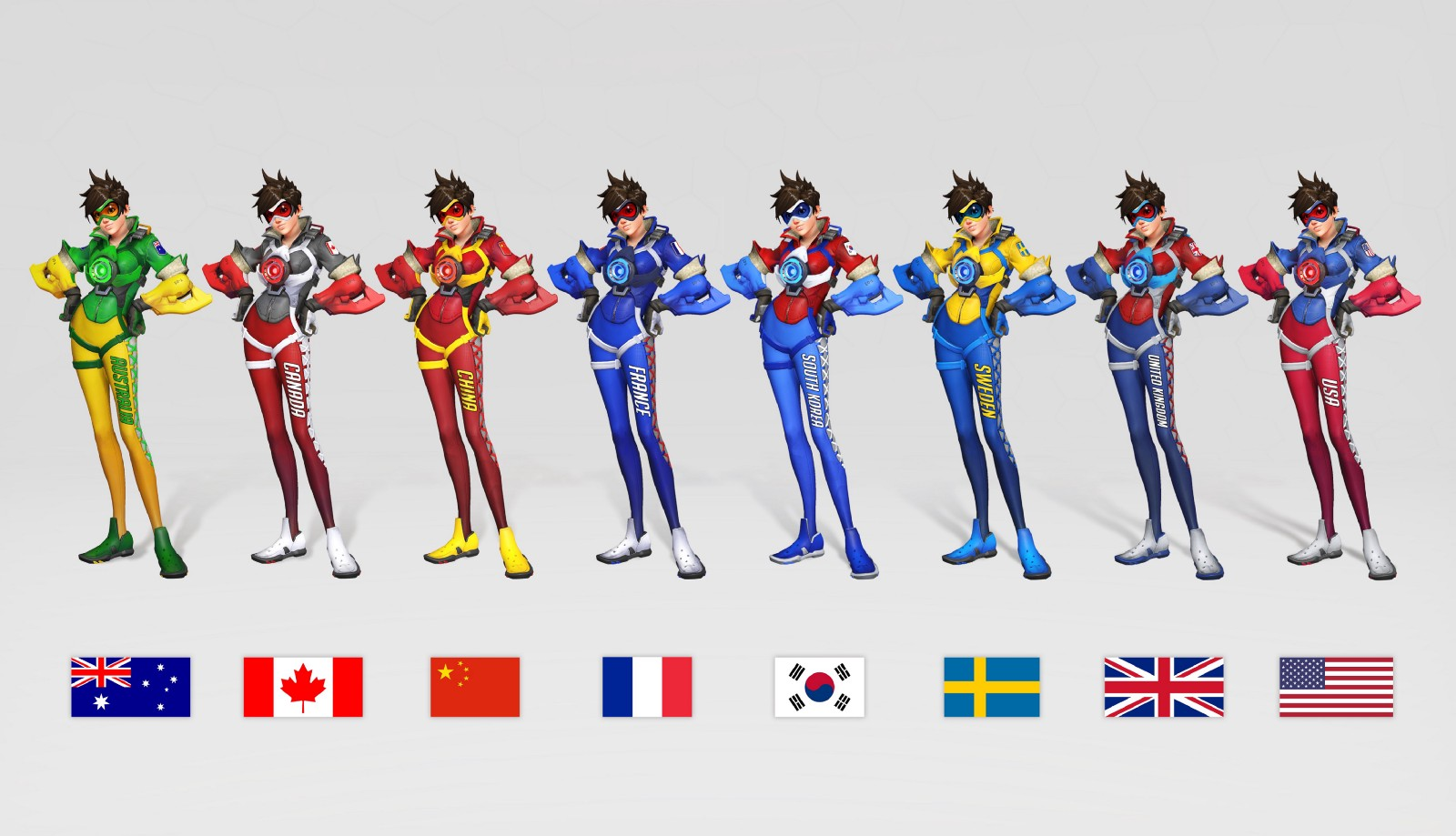 Overwatch: Team Uniforms to Debut at BlizzCon 2017 ...