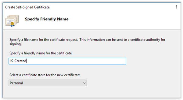 Generating self-signed certificates on Windows – The new control ...